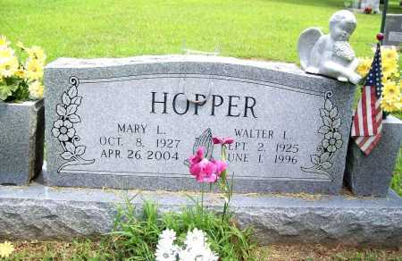 HOPPER, WALTER LENNIS - Benton County, Arkansas | WALTER LENNIS HOPPER - Arkansas Gravestone Photos