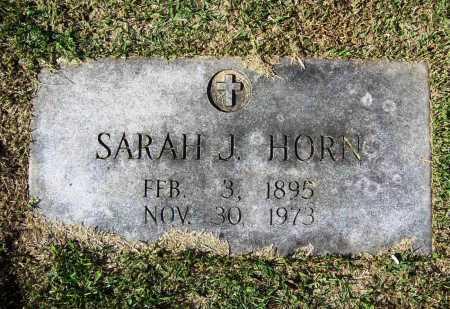 HORN, SARAH J. - Benton County, Arkansas | SARAH J. HORN - Arkansas Gravestone Photos