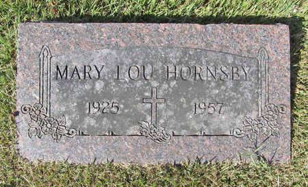 HORNSBY, MARY LOU - Benton County, Arkansas | MARY LOU HORNSBY - Arkansas Gravestone Photos