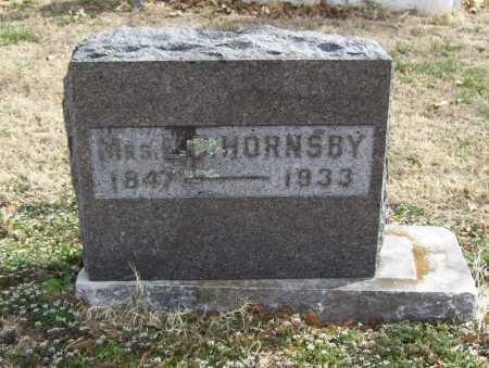HORNSBY, MATILDA - Benton County, Arkansas | MATILDA HORNSBY - Arkansas Gravestone Photos