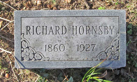 HORNSBY, RICHARD - Benton County, Arkansas | RICHARD HORNSBY - Arkansas Gravestone Photos