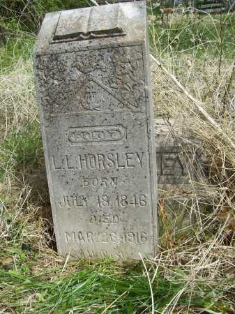 HORSLEY, LEWIS LANGLEY - Benton County, Arkansas | LEWIS LANGLEY HORSLEY - Arkansas Gravestone Photos