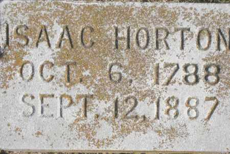 HORTON, ISAAC - Benton County, Arkansas | ISAAC HORTON - Arkansas Gravestone Photos