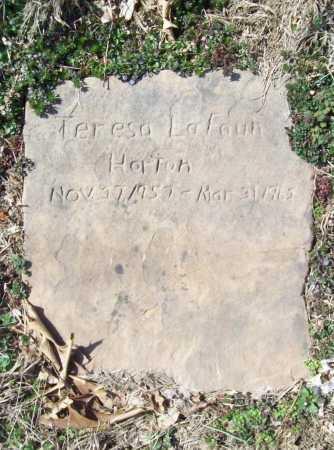 HORTON, TERESA LAFAUN - Benton County, Arkansas | TERESA LAFAUN HORTON - Arkansas Gravestone Photos