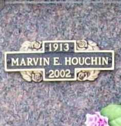 HOUCHIN, MARVIN E. - Benton County, Arkansas | MARVIN E. HOUCHIN - Arkansas Gravestone Photos