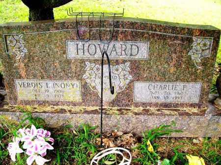HOWARD, VERDIS I (NONY) - Benton County, Arkansas | VERDIS I (NONY) HOWARD - Arkansas Gravestone Photos