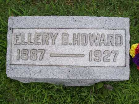 HOWARD, ELLERY B. - Benton County, Arkansas | ELLERY B. HOWARD - Arkansas Gravestone Photos