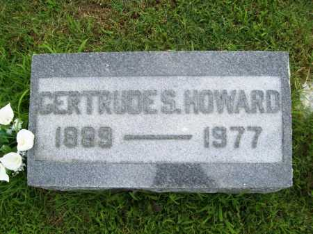 HOWARD, GERTRUDE S. - Benton County, Arkansas | GERTRUDE S. HOWARD - Arkansas Gravestone Photos