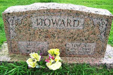 HOWARD, HAROLD - Benton County, Arkansas | HAROLD HOWARD - Arkansas Gravestone Photos