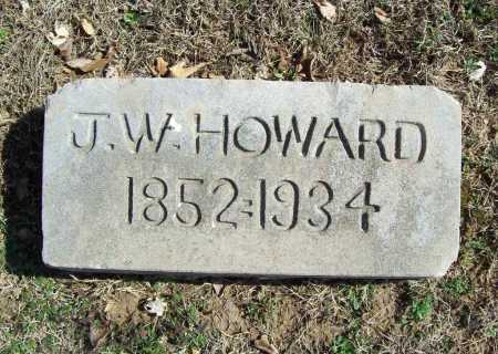 HOWARD, J. W. - Benton County, Arkansas | J. W. HOWARD - Arkansas Gravestone Photos