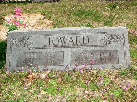 "HOWARD, JAMES FELIX ""PETE"" - Benton County, Arkansas 