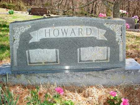 HOWARD, SARAH - Benton County, Arkansas | SARAH HOWARD - Arkansas Gravestone Photos