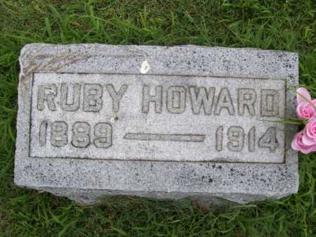 HOWARD, RUBY BLANCHE - Benton County, Arkansas | RUBY BLANCHE HOWARD - Arkansas Gravestone Photos