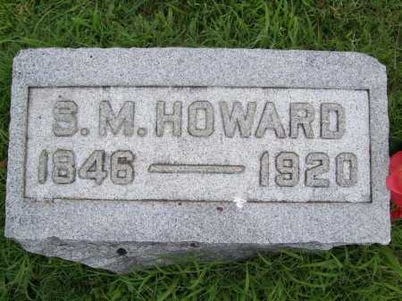 HOWARD, S. M. - Benton County, Arkansas | S. M. HOWARD - Arkansas Gravestone Photos