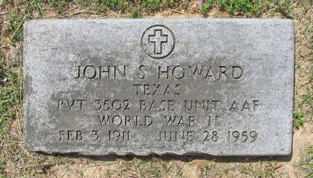 HOWARD (VETERAN WWII), JOHN S. - Benton County, Arkansas | JOHN S. HOWARD (VETERAN WWII) - Arkansas Gravestone Photos