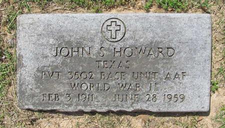 HOWARD (VETERAN WWII), JOHN S - Benton County, Arkansas | JOHN S HOWARD (VETERAN WWII) - Arkansas Gravestone Photos
