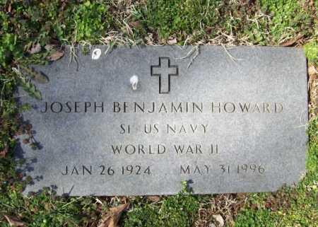 HOWARD (VETERAN WWII), JOSEPH BENJAMIN - Benton County, Arkansas | JOSEPH BENJAMIN HOWARD (VETERAN WWII) - Arkansas Gravestone Photos