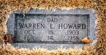 HOWARD, WARREN L. - Benton County, Arkansas | WARREN L. HOWARD - Arkansas Gravestone Photos