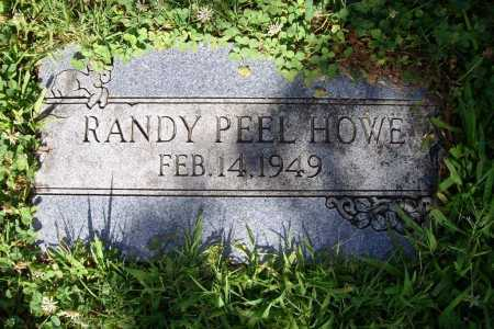 HOWE, RANDY PEEL - Benton County, Arkansas | RANDY PEEL HOWE - Arkansas Gravestone Photos