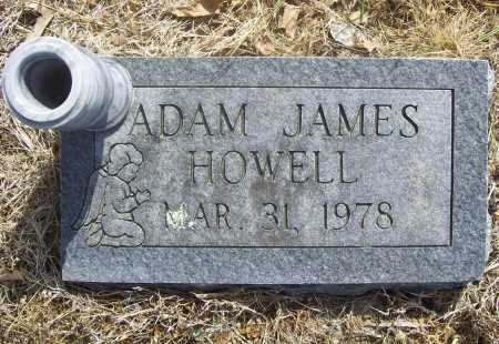 HOWELL, ADAM JAMES - Benton County, Arkansas | ADAM JAMES HOWELL - Arkansas Gravestone Photos