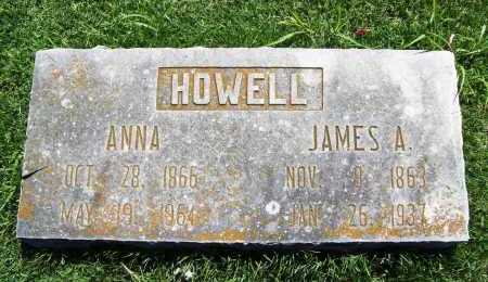 HOWELL, JAMES A - Benton County, Arkansas | JAMES A HOWELL - Arkansas Gravestone Photos