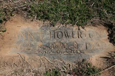 HOWERTON, ANN T. - Benton County, Arkansas | ANN T. HOWERTON - Arkansas Gravestone Photos