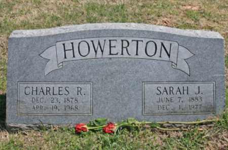 HOWERTON, CHARLES R. - Benton County, Arkansas | CHARLES R. HOWERTON - Arkansas Gravestone Photos