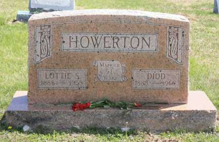 HOWERTON, DIDD - Benton County, Arkansas | DIDD HOWERTON - Arkansas Gravestone Photos