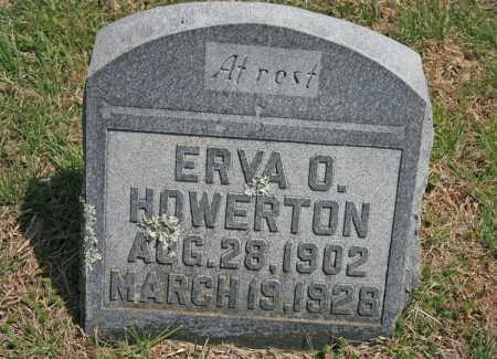 HOWERTON, ERVA O. - Benton County, Arkansas | ERVA O. HOWERTON - Arkansas Gravestone Photos