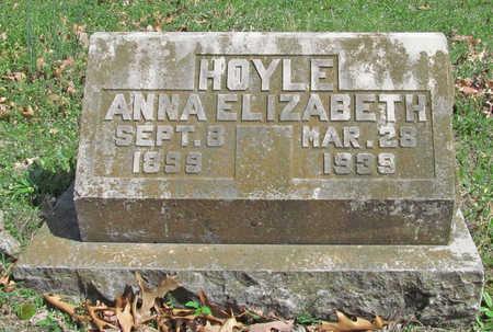 HOYLE, ANNA ELIZABETH - Benton County, Arkansas | ANNA ELIZABETH HOYLE - Arkansas Gravestone Photos