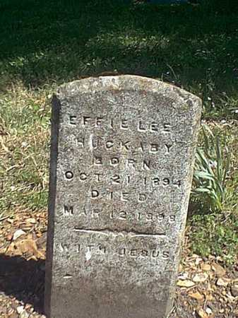 HUCKABY, EFFIE LEE - Benton County, Arkansas | EFFIE LEE HUCKABY - Arkansas Gravestone Photos