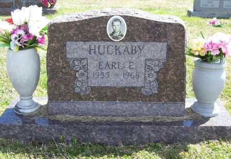 HUCKABY, EARL E - Benton County, Arkansas | EARL E HUCKABY - Arkansas Gravestone Photos