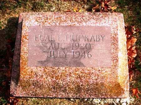 HUCKABY, EUAL E - Benton County, Arkansas | EUAL E HUCKABY - Arkansas Gravestone Photos
