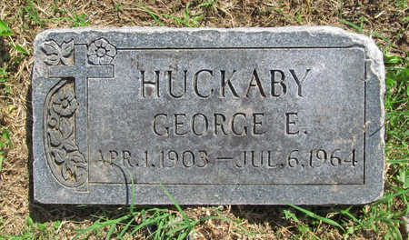 HUCKABY, GEORGE ERUIN - Benton County, Arkansas | GEORGE ERUIN HUCKABY - Arkansas Gravestone Photos