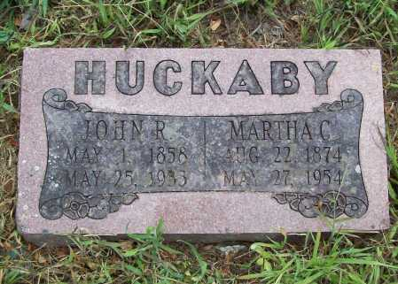 OXFORD HUCKABY, MARTHA CATHERINE - Benton County, Arkansas | MARTHA CATHERINE OXFORD HUCKABY - Arkansas Gravestone Photos