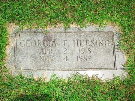 HUESING, GEORGIA F. - Benton County, Arkansas | GEORGIA F. HUESING - Arkansas Gravestone Photos