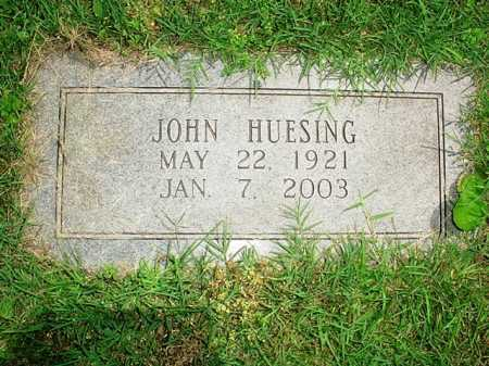 HUESING, JOHN - Benton County, Arkansas | JOHN HUESING - Arkansas Gravestone Photos