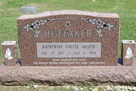 AUSTIN HUFFAKER, KATHERINE LOUISE - Benton County, Arkansas | KATHERINE LOUISE AUSTIN HUFFAKER - Arkansas Gravestone Photos