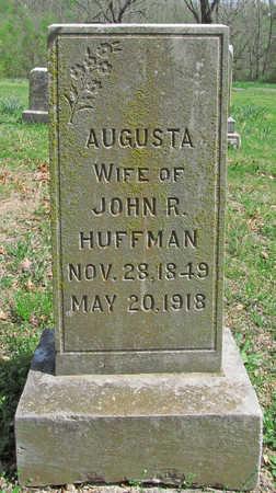 HUFFMAN, AUGUSTA - Benton County, Arkansas | AUGUSTA HUFFMAN - Arkansas Gravestone Photos