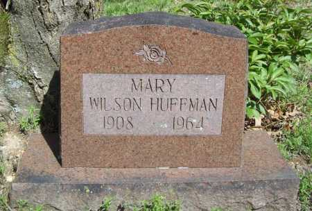 WILSON HUFFMAN, MARY - Benton County, Arkansas | MARY WILSON HUFFMAN - Arkansas Gravestone Photos