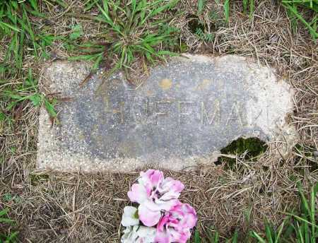 HUFFMAN, UNKNOWN - Benton County, Arkansas | UNKNOWN HUFFMAN - Arkansas Gravestone Photos