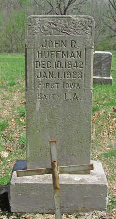 HUFFMAN (VETERAN UNION), JOHN R - Benton County, Arkansas | JOHN R HUFFMAN (VETERAN UNION) - Arkansas Gravestone Photos