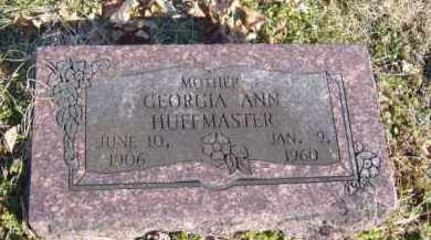 HUFFMASTER, GEORGIA ANN - Benton County, Arkansas | GEORGIA ANN HUFFMASTER - Arkansas Gravestone Photos
