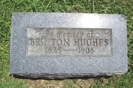 HUGHES, BRINTON - Benton County, Arkansas | BRINTON HUGHES - Arkansas Gravestone Photos