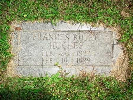 HUGHES, FRANCES RUTHE - Benton County, Arkansas | FRANCES RUTHE HUGHES - Arkansas Gravestone Photos
