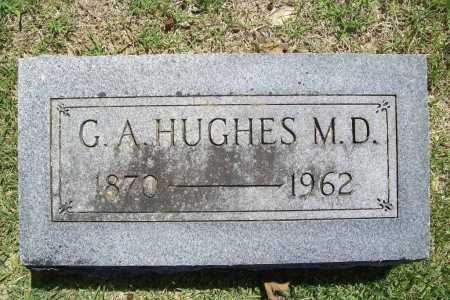 HUGHES, G. A. - Benton County, Arkansas | G. A. HUGHES - Arkansas Gravestone Photos