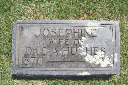 HUGHES, JOSEPHINE - Benton County, Arkansas | JOSEPHINE HUGHES - Arkansas Gravestone Photos