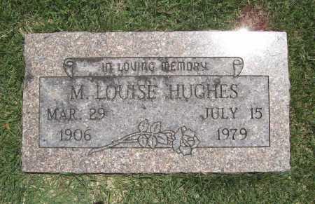 HUGHES, M. LOUISE - Benton County, Arkansas | M. LOUISE HUGHES - Arkansas Gravestone Photos