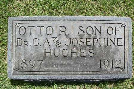 HUGHES, OTTO R. - Benton County, Arkansas | OTTO R. HUGHES - Arkansas Gravestone Photos