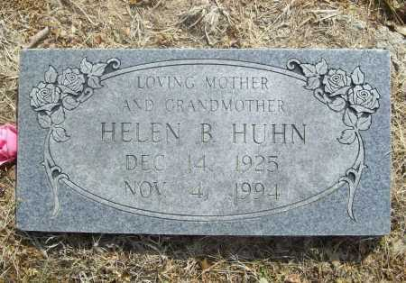HUHN, HELEN B. - Benton County, Arkansas | HELEN B. HUHN - Arkansas Gravestone Photos